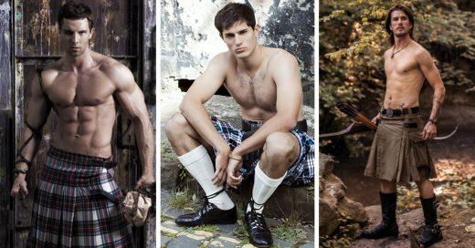 Hombres con falda
