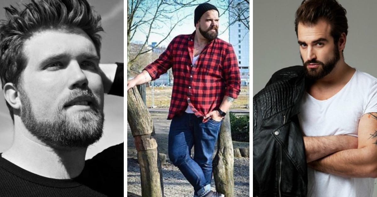 Hombres modelos plus-size que están robando miradas