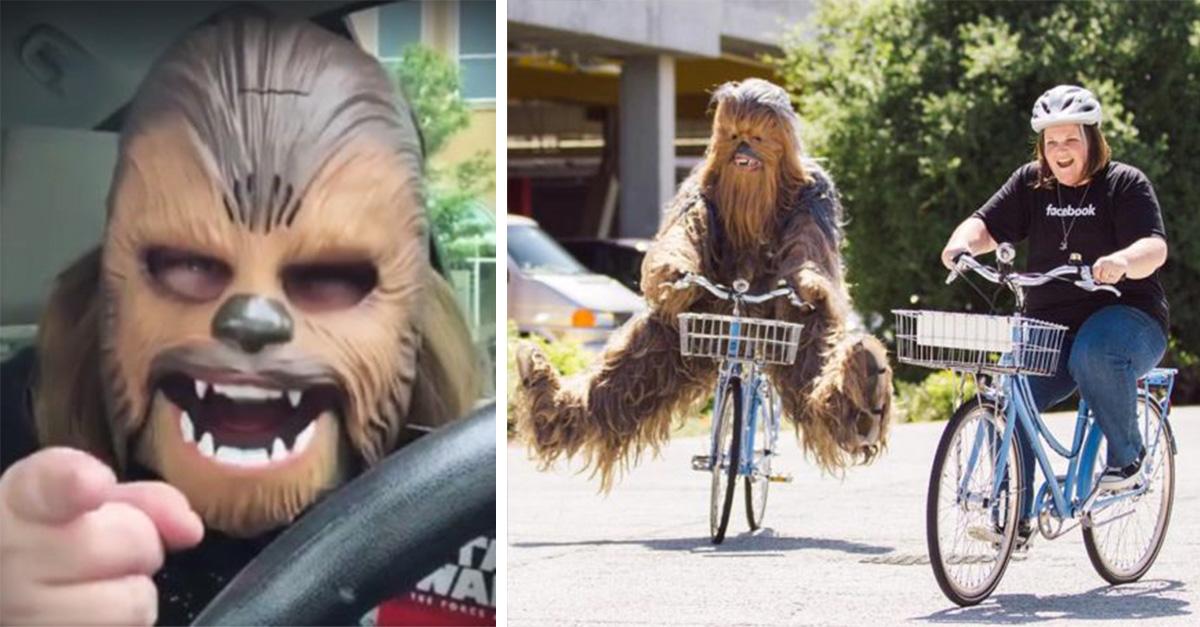 La mamá Chewbacca está disfrutando de la mejor semana de su vida después de hacer su video viral