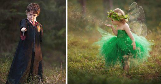 Una madre crea increíbles disfraces para sus hijos y así capturar las mejores fotos de su infancia