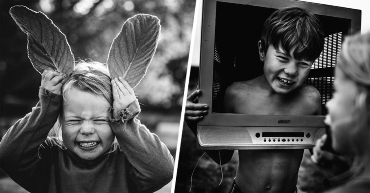Una madre fotografió como es la vida de sus hijos sin aparatos electrónicos
