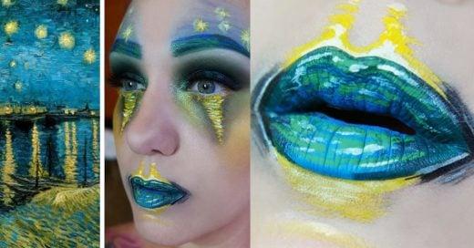 maquillista profesional recrea famosas obras de arte