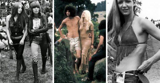 35 increíbles fotografías que son la mejor prueba de que en este mundo cíclico todo lo viejo se vuelve nuevo otra vez, y que la moda de los festivales parece no haber cambiado mucho con los años