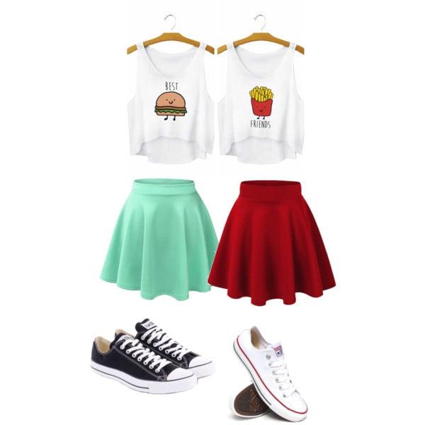 Outfit que las mejores amigas compartirían