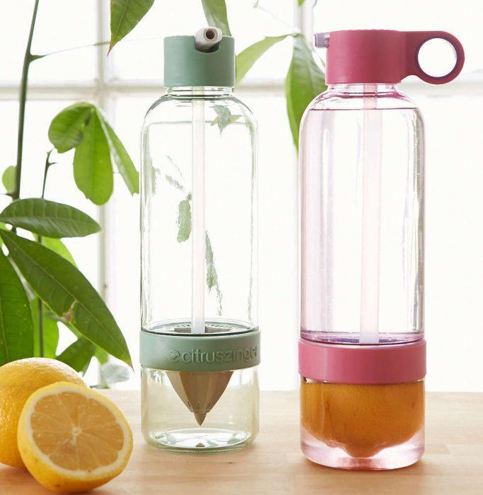 botellas de agua para citricos