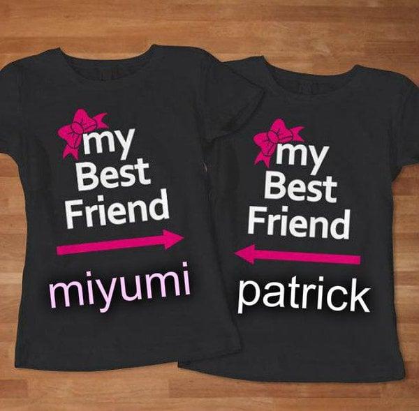 Outfits para las mejores amigas de blusas en color negro