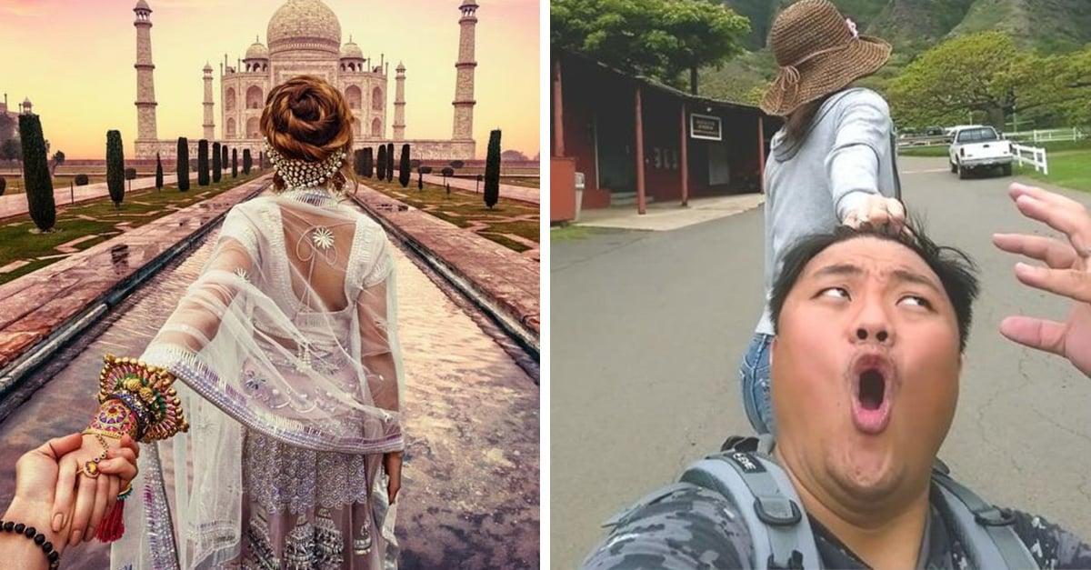 Esta pareja de Taiwaneses parodia de la manera más divertida a la pareja #FollowMeTo