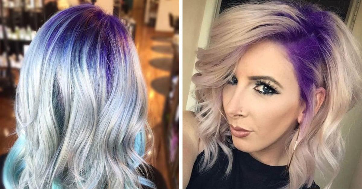Raíces de pelo coloridas que te animarán a teñir las tuyas