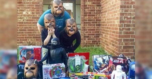 Los directivos de Kohl's recompensaron a Candance y a sus hijos con una gran sorpresa como muestra de agradecimiento ya que las máscaras de Chewbacca comenzaron a venderse como pan caliente gracias a su video viral