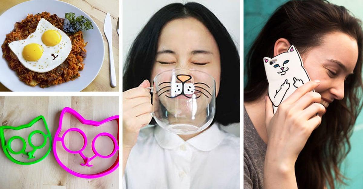 Regalos perfectos para las chicas que aman a los gatos