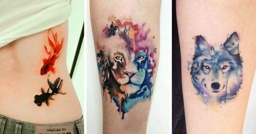 15 Ideas de tatuajes de animales para chicas y su poderoso significado