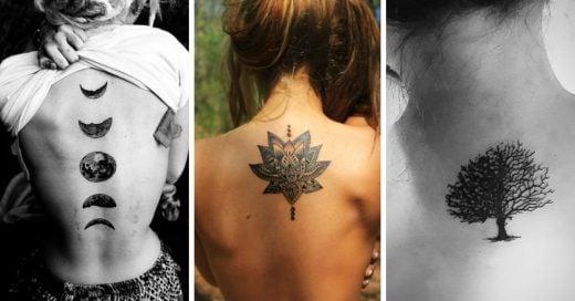 10 Ideas de tatuajes para la espalda y su significado, que a las mujeres les encantararán