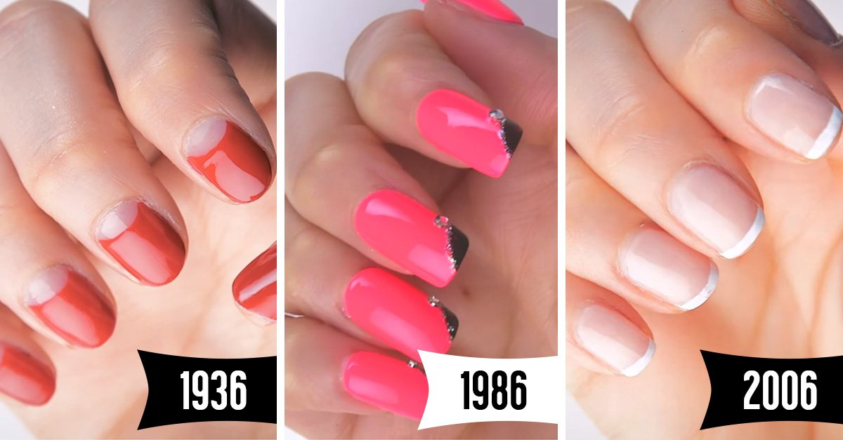 Así es cómo han cambiado las tendencias en las uñas en los últimos 100 años ¿Cuál prefieres?