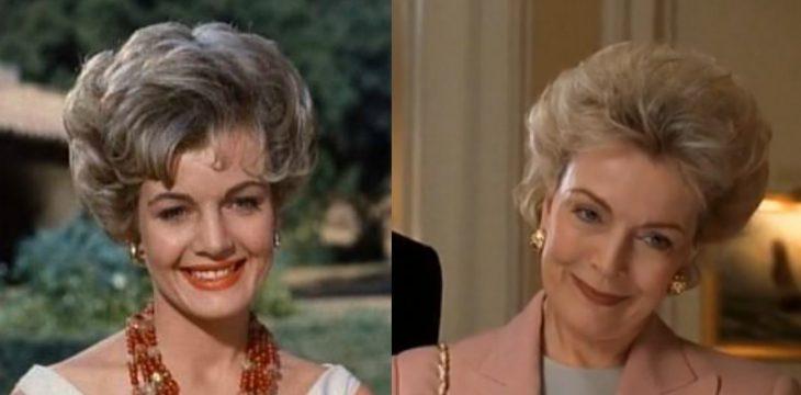 mujer cabello corto sonriendo antes y despues