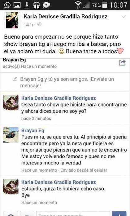 capturas de pantalla comentarios de el brayan y chica del metro