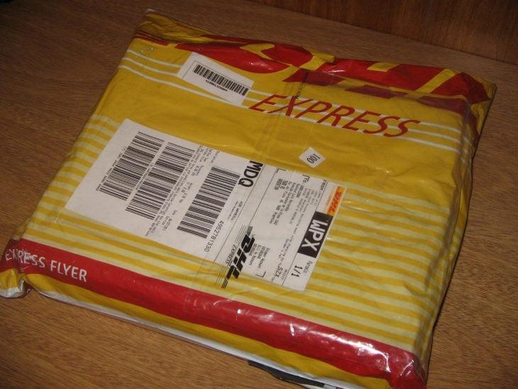 paquete de DHL