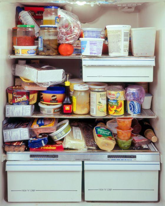 refrigerador lleno