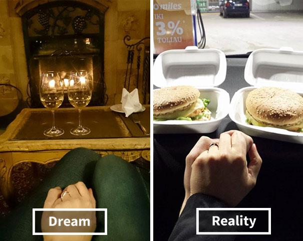 Propuesta de matrimonio expectativa y realidad