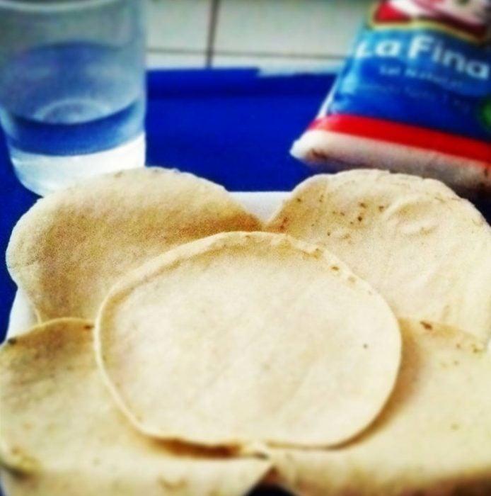 tortillas con sal