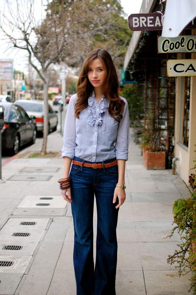 Jeans Trabajo Y En Fabulosa Cómo Lucir Tus Combinar El XqR1pAw
