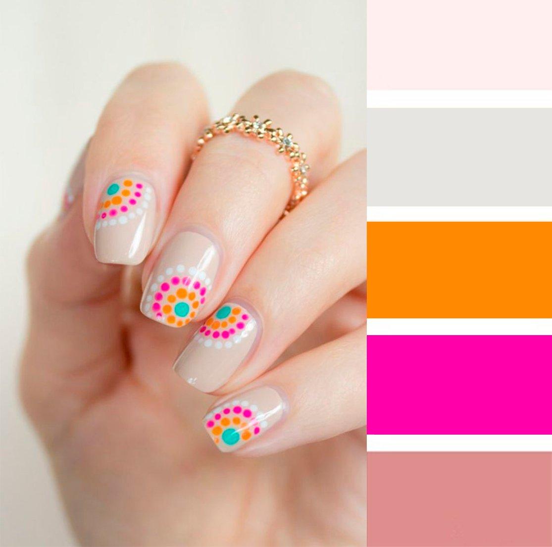 15 combinaciones de colores para una manicura perfecta - Colores que combinan con wengue ...