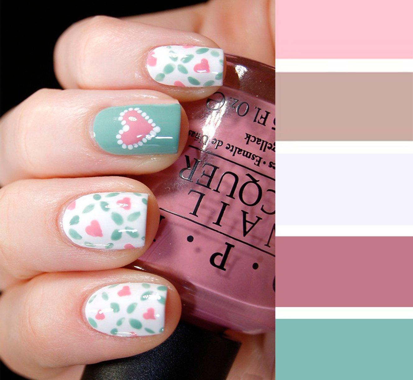15 combinaciones de colores para una manicura perfecta for Combinacion de color rosa