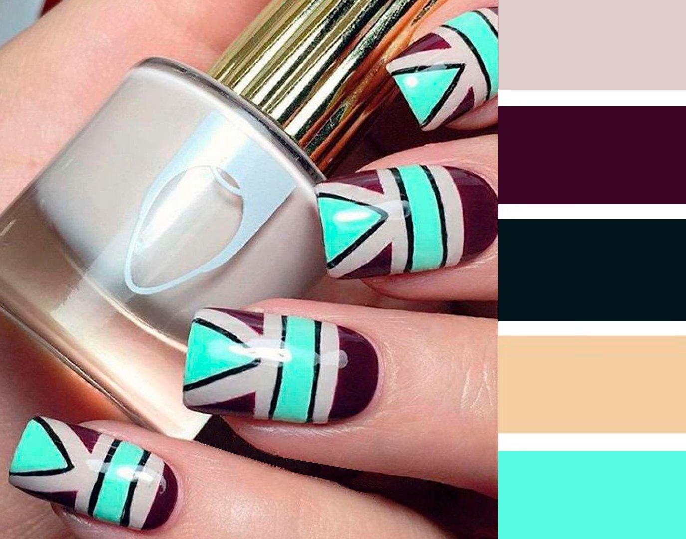 15 Combinaciones De Colores Para Una Manicura Perfecta - Colores-combinacion