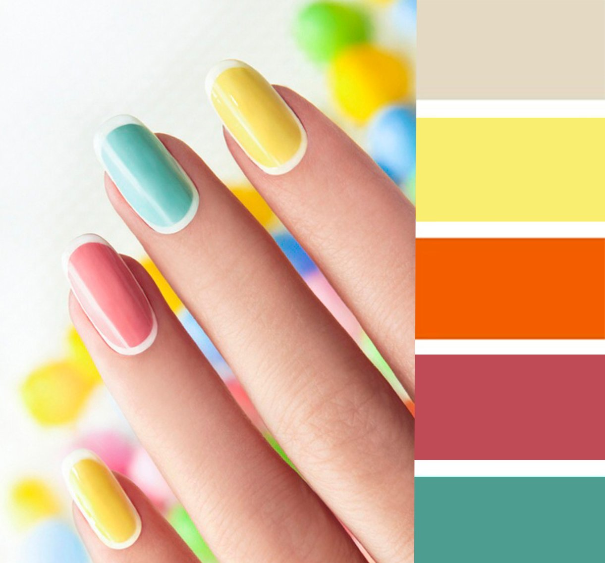15 combinaciones de colores para una manicura perfecta for Colores para living 2016