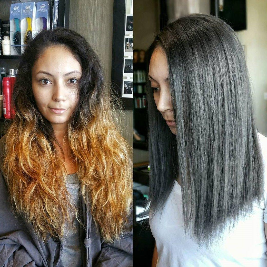 Cortar el cabello de largo a corto