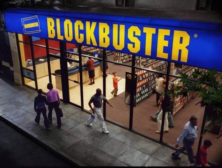 Fachada de Blockbuster