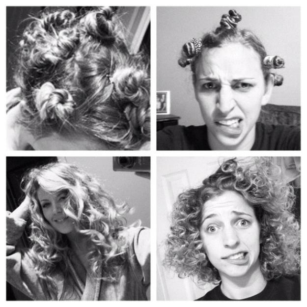 Fails de pinterest mujer haciendo su cabello chino