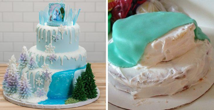 Fails de pinterest pastel de la película frozen