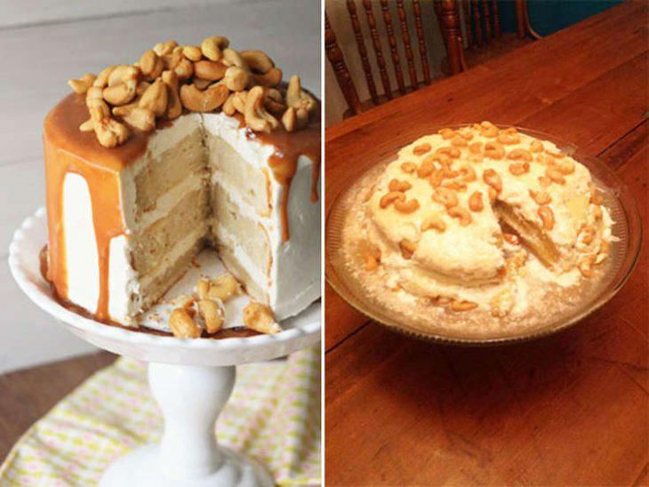 Fails de pinterest pastel de nueces de la india