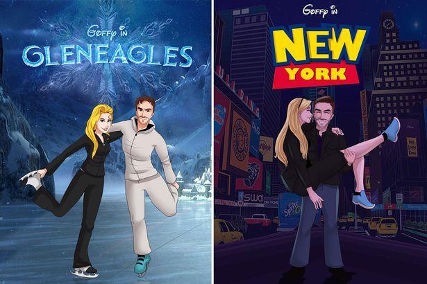 Posters de películas inspiradas en Disney
