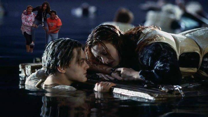 Ladyreportera en el titanic
