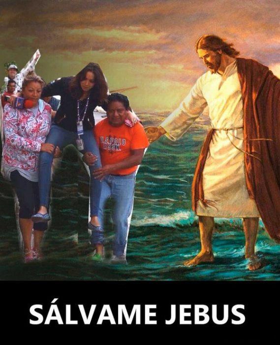 Ladyreportera y Jesús
