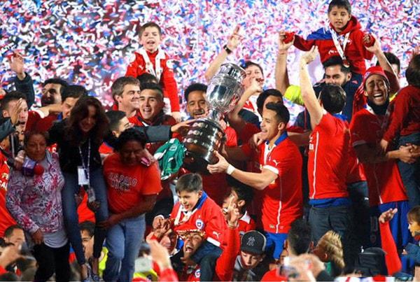 #Ladyreportera con la selección de Chile