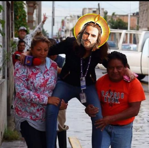 #Ladyreportera como Jesús