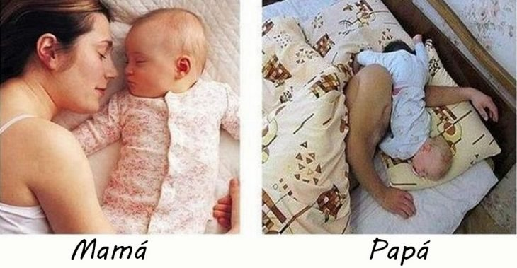 Bebés tomando una siesta