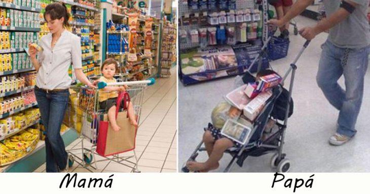 Padres de compras