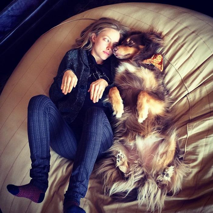 mujer jugando con su perro