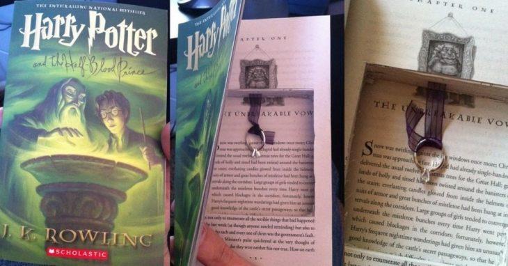 Propuesta de matrimonio en libro de Harry Potter