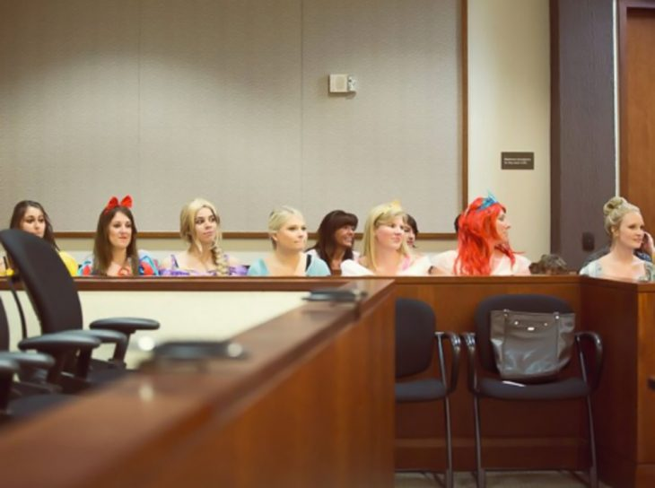 Audiencia con princesas de Disney