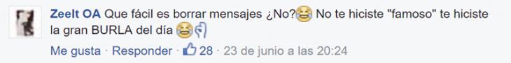"""comentario de facebook """"El Brayan"""" busca a chica en el metro y cuando Internet la encuentra él la termina friendzoneando"""