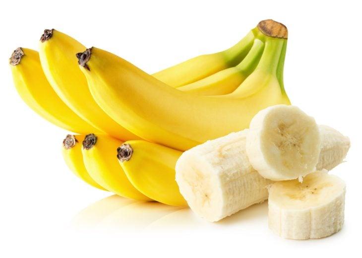 Plátano cortado en rebanadas