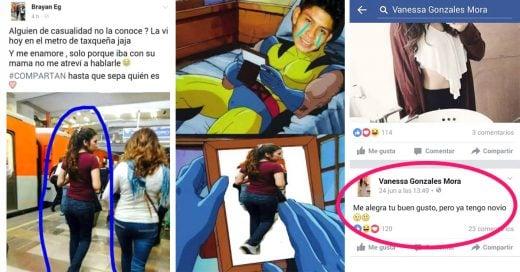 """""""El Brayan"""" busca una chica del metro... Internet la encuentra y el termina friendzoneandola"""