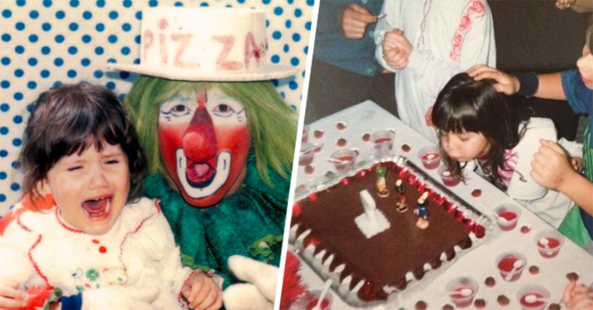 escenas de una fiesta infantil que toda chica de los 80's y 90's recuerda