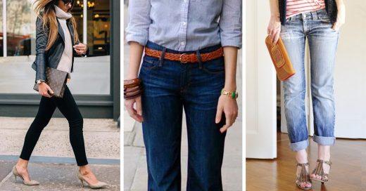 Esta es la forma correcta de usar jeans para ir al trabajo, ¡mira!