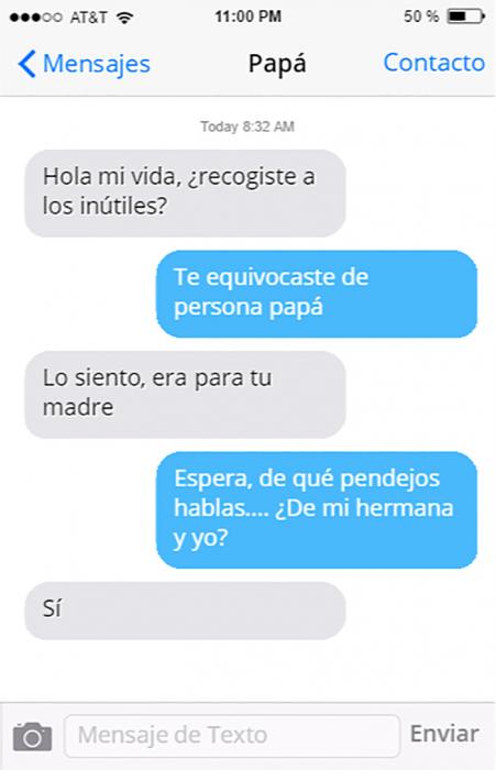 conversaciones divertidas entre padres e hijos