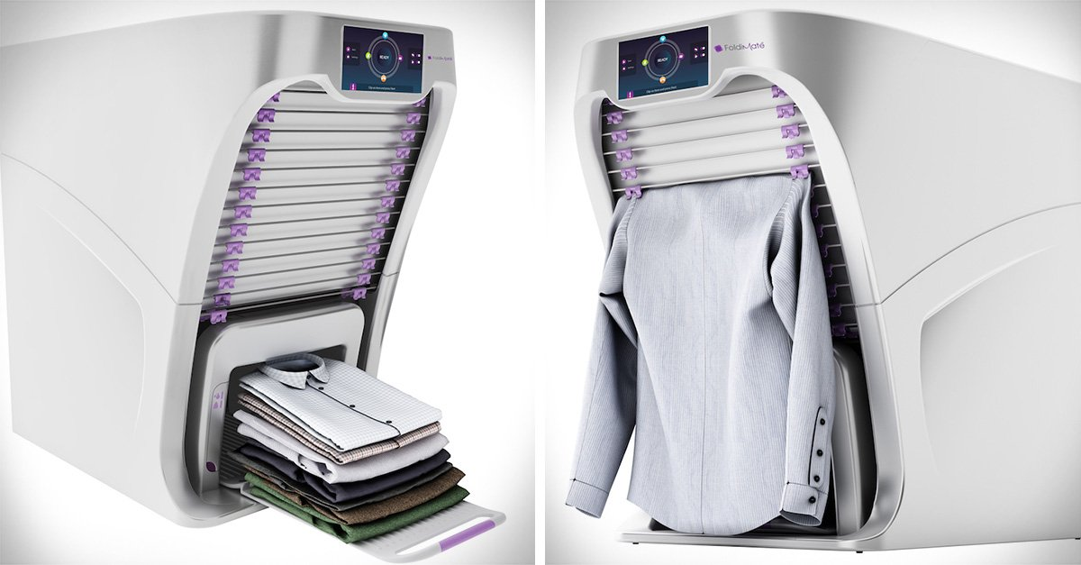Gadget que te ayudar a doblar la ropa f cil y r pido - Como doblar jerseys para que ocupen poco ...